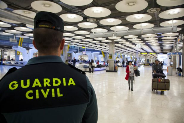 Madrid-barajas, the airport forefront in the war on drugs